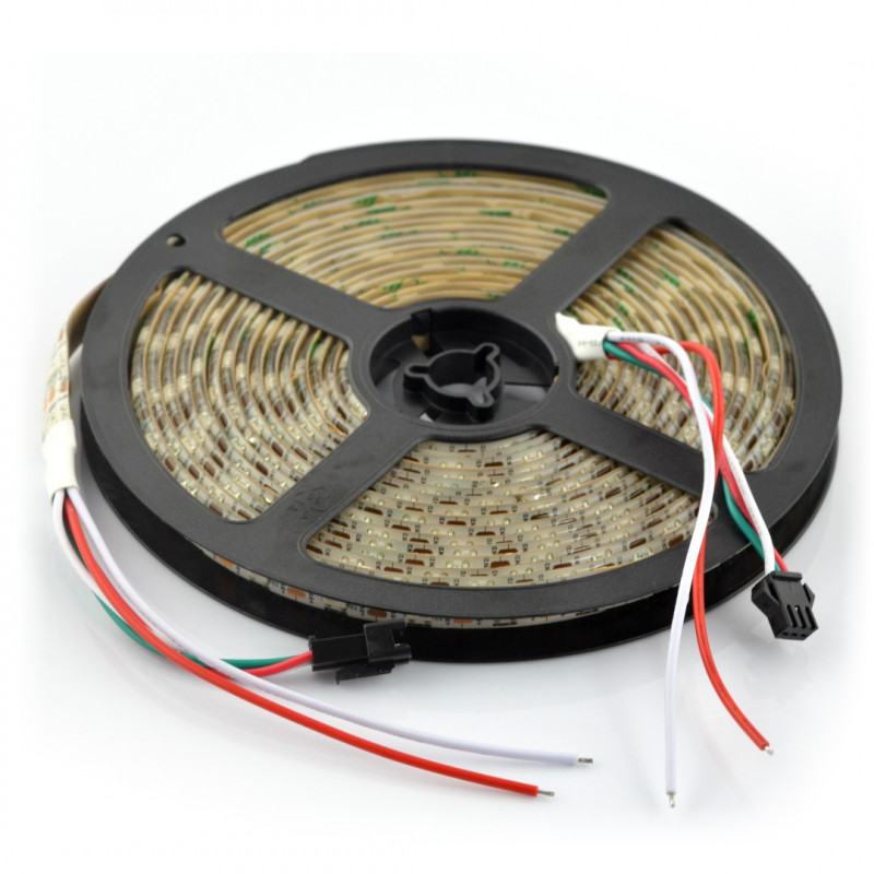 Pasek LED RGB WS2811 - cyfrowy, adresowany - IP65 60LED/m, 14,4W/m, 12V - 5m