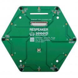 ReSpeaker dla Raspberry Pi - moduł z 6 mikrofonami