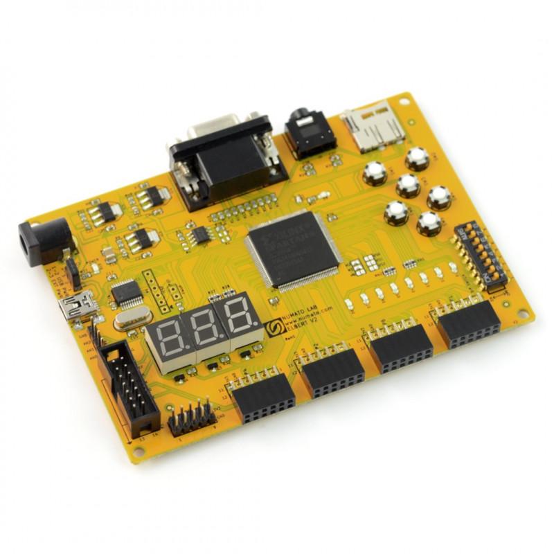 Elbert v2 - Spartan 3A - płytka rozwojowa FPGA do kursu FORBOT