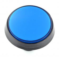 Push Button 6cm - niebieski (wersja eko2)