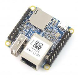 NanoPi NEO v1.3 - Allwinner H3 Quad-Core 1,2GHz + 512MB RAM - ze złączami