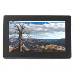 """Ekran Seeed studio LCD IPS 5"""" 720x1280px HDMI + USB dla Raspberry Pi 3B+/3B/2B/Zero obudowa czarna"""