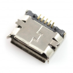 Connector micro usb type B SMD