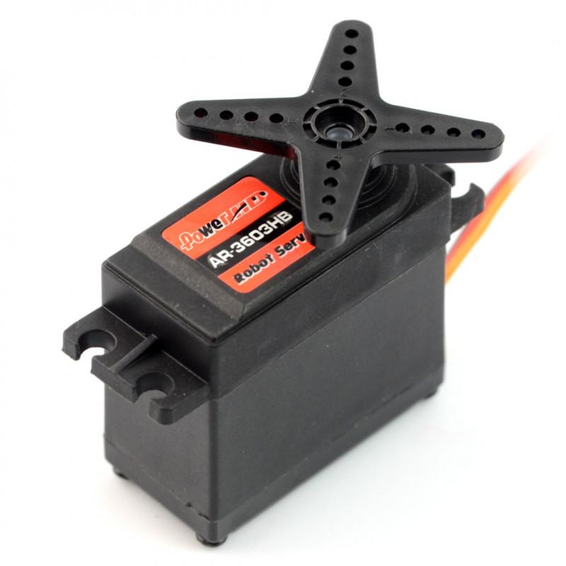 Serwo PowerHD AR-3603HB praca ciągła 360 stopni