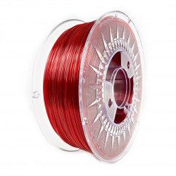 Filament Devil Design PET-G 1,75mm 1kg - Ruby Red Transparent