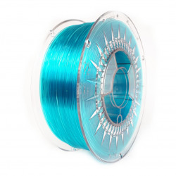 Filament Devil Design PET-G 1,75mm 1kg - Blue Transparent
