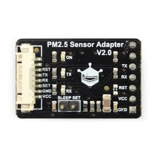 Laserowy czujnik pyłu / stężenia cząstek PM2 5 - PMS5003