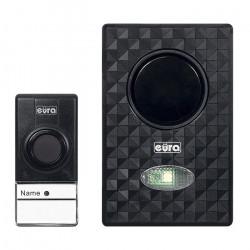 Eura WDP-40A3 Lumen - wireless doorbell - battery powered - light and vibration