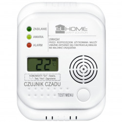 Eura-tech El-Home CD-75A4 - carbon monoxide CO sensor LCD 4,5V DC