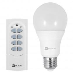 Eura-tech EL Home RCB-40C8 - LED 7W bulb, radio controlled + remote control