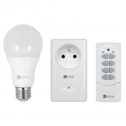 Eura-tech EL Home RCX-80C8 - Wireless kit: bulb + socket + remote control - 433MHz