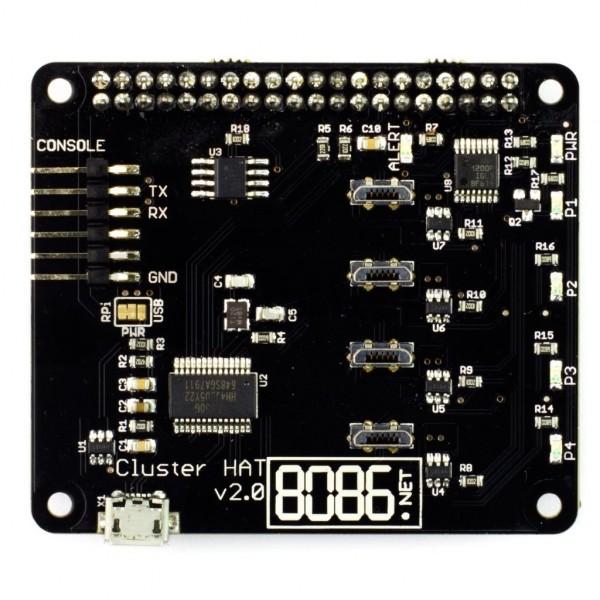 Pimoroni Cluster HAT v2 3 for Raspberry Pi Zero*