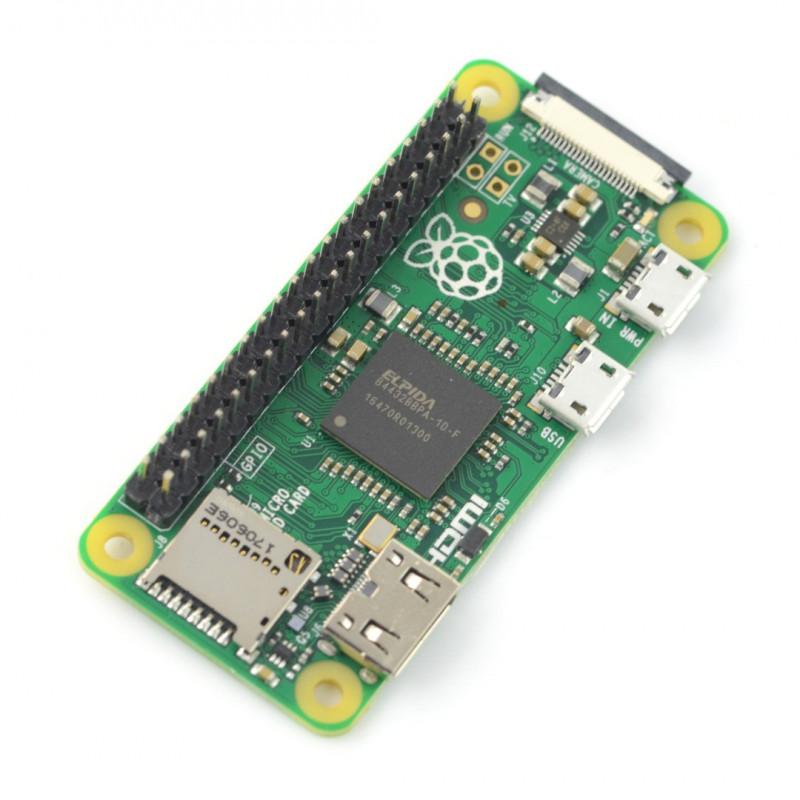 Raspberry Pi Zero V1.3 - 512MB RAM - ze złączami