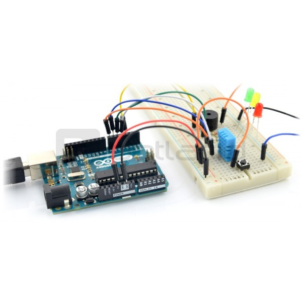 StarterKit Advanced with Arduino Uno A000066 module + Box*