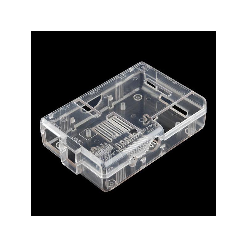 Obudowa Raspberry Pi Model B Pi Tin - przezroczysta