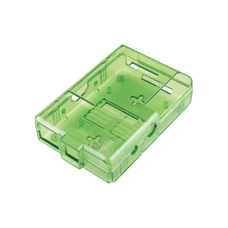 Obudowa Raspberry Pi Model B Pi Tin - zielona