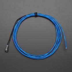 Przewód elektroluminescencyjny 2,5m - niebieski