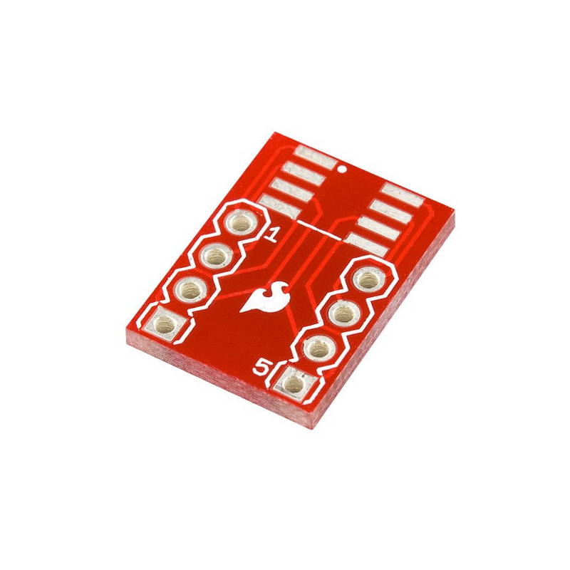 SOIC adapter on 8-pin DIP - SparkFun