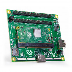 RPI 3+ Compute Module Dev Kit: Raspberry Pi CM3+, I/O expansion