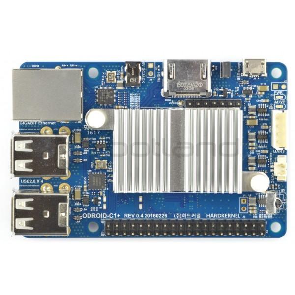 Odroid C1 + - Amlogic S805 Quad-Core 1 5GHz + 1GB RAM*