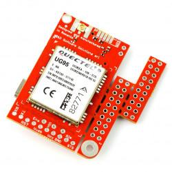 Moduł 3G/GSM - u-GSM shield v2.19 UG95E - do Arduino i Raspberry Pi - złącze u.FL