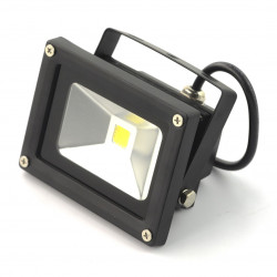 Outdoor lamp LED ART, 10W, IP65, AC80-265V, black, 4000K-W