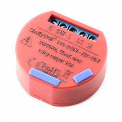 Shelly 1PM - 1x relay 60VDC / 230VAC WiFi 16A - power metering - Android / iOS application