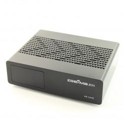 Tuner Zgemma H9S DVB-S2X 4K UHD H.265 HEVC LAN LINUX