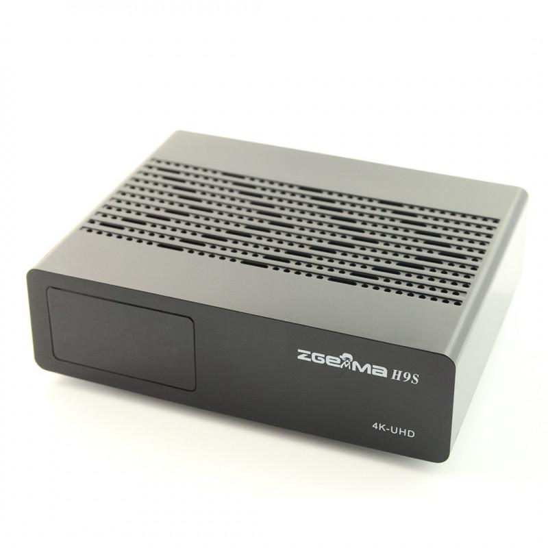 Tuner Zgemma H9S DVB-S2X 4K UHD H 265 HEVC LAN