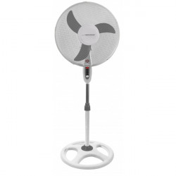Stand fan Typhoon - white-grey