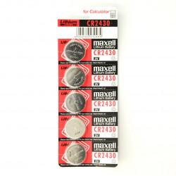 Bateria Maxell CR2430 3V - 5 sztuk