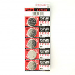 Maxell Battery CR2430 - 5pcs