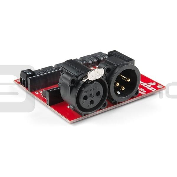 SparkFun ESP32 Thing Plus DMX - driver for LED strips_