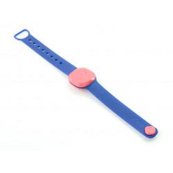NotiOne Opaska Play - lokalizator Bluetooth - malinowy, opaska - granatowa