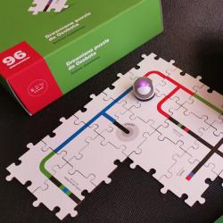 Ozobot - drewniane puzzle do nauki programowania - zestaw dodatkowy
