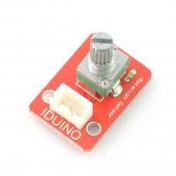 Czujnik obrotu, impulsator, enkoder + przewód - moduł Iduino