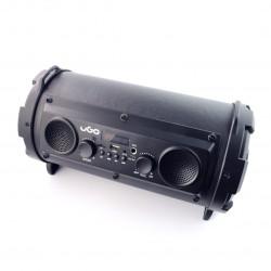 Głośnik Bluetooth uGo Bazooka Karaoke 16W RMS z mikrofonem - czarny
