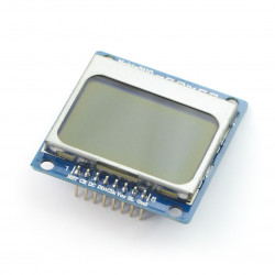 Iduino LCD graphic display 84x48px - Nokia 5110