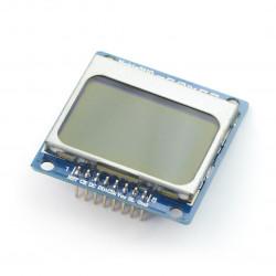 Wyświetlacz LCD graficzny 84x48px - Nokia 5110 - Iduino
