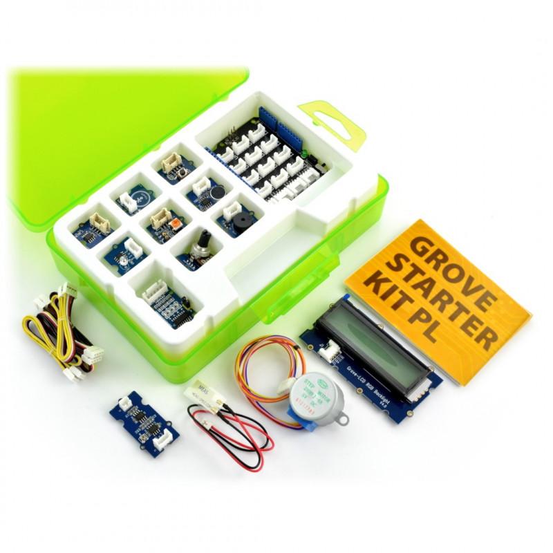 Grove - StarterKit v3 - pakiet startowy dla Arduino PL