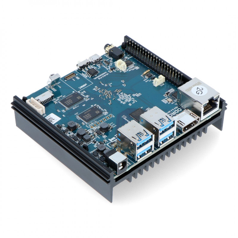 Odroid N2 - Amlogic S922X Quad-Core 1,8GHz + 4GB RAM
