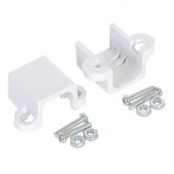 Mocowania do micro silników Pololu przedłużone - białe - 2szt.