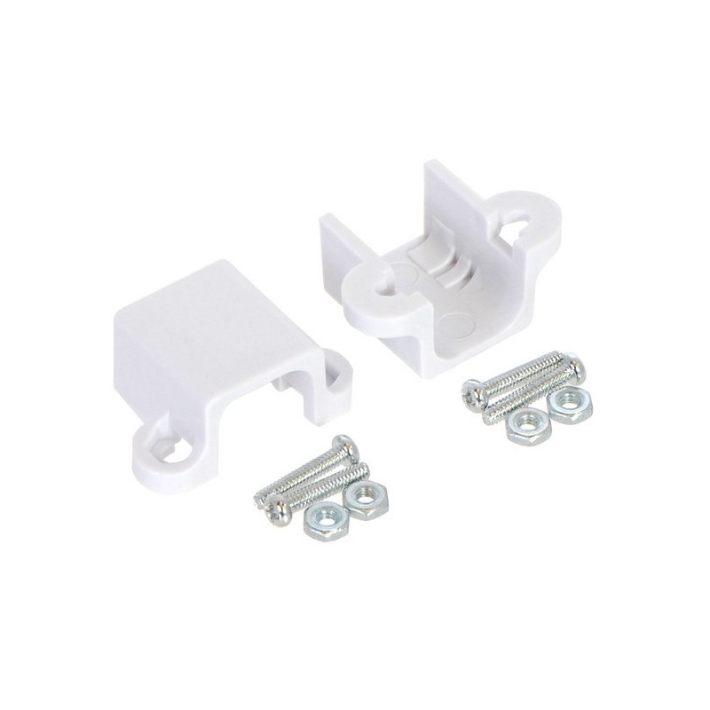 Micro Motor Mount Extended - white - 2pcs - Pololu 1089*