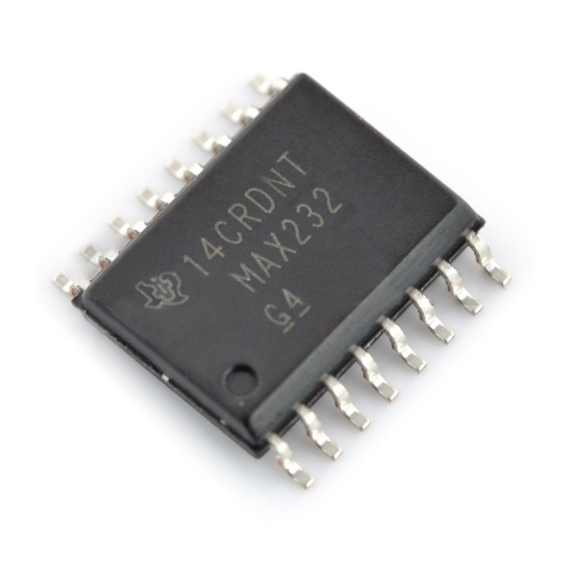 Converter MAX232EWE - wide SMD_