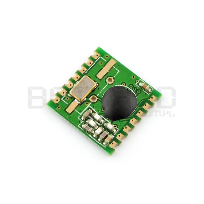 Moduł radiowy - RFM02-868S2 868MHz - nadajnik SMD