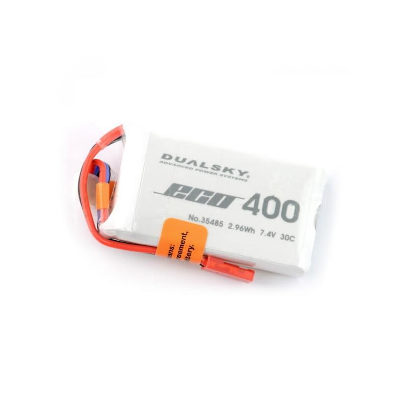 Pakiet Li-Pol Dualsky 400mAh 30C 2S 7.4V