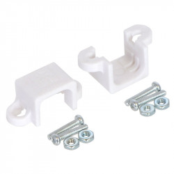 Mount for Pololu micro motors - white - 2pcs.