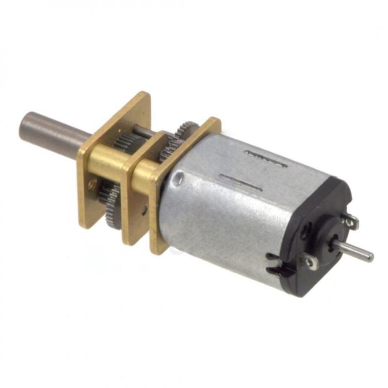 HP Motor with 50:1 Gear - doublesided shaft - Pololu 2213