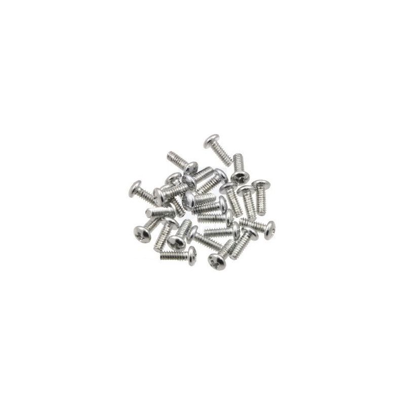 M2,5 PH Screws Length 6mm with Washers - 10pcs.