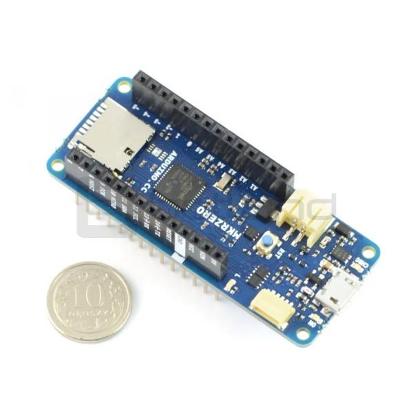 Arduino MKR Zero module ABX00012 - SAMD21-with connectors*